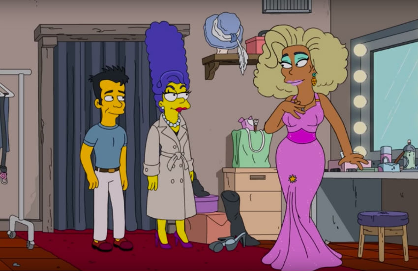 Drag queen-inspired Simpsons episode