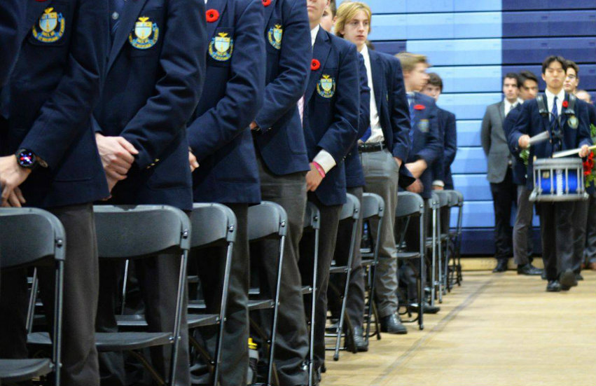 Students at St Michael's College School