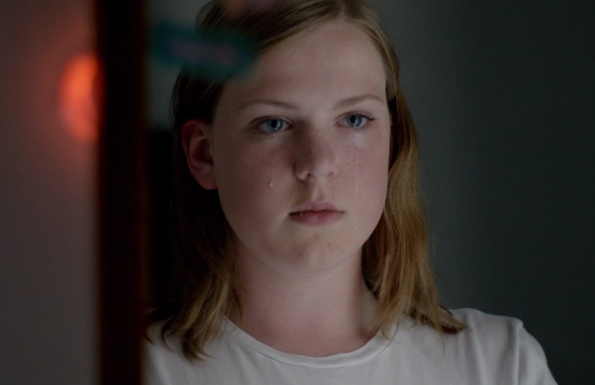 Still from Jake Graf's film about trans youth