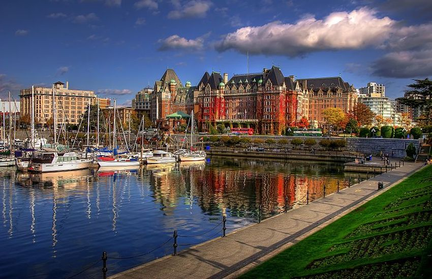 A beautiful view in Victoria, British Columbia