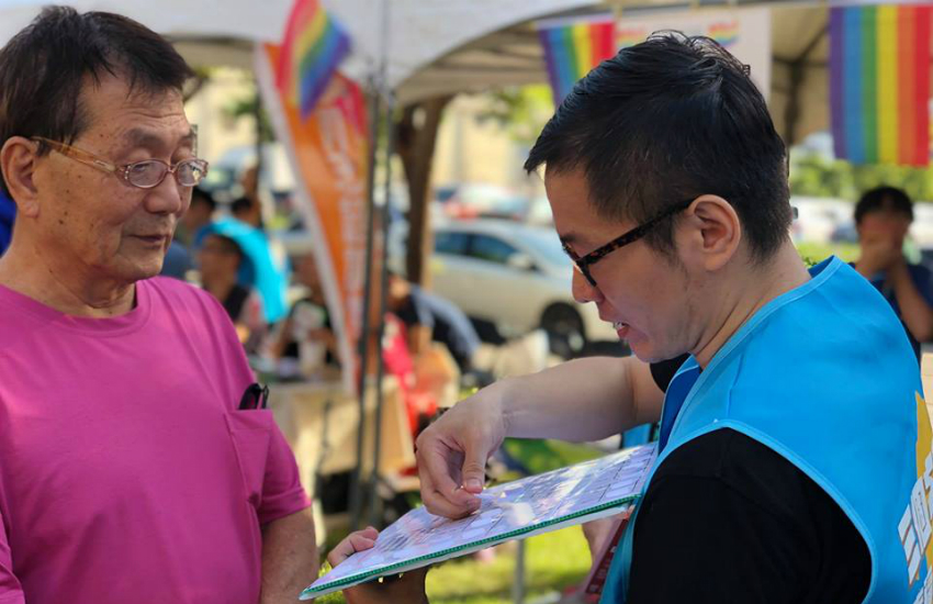 An LGBTI rights advocate discusses the upcoming referendums (Photo: Facebook)
