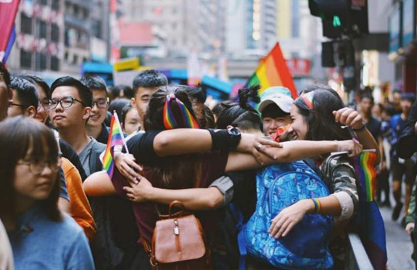 Hong's Kong's LGBTI community want the right to marry. Credits: @ameliachieu/Instagram