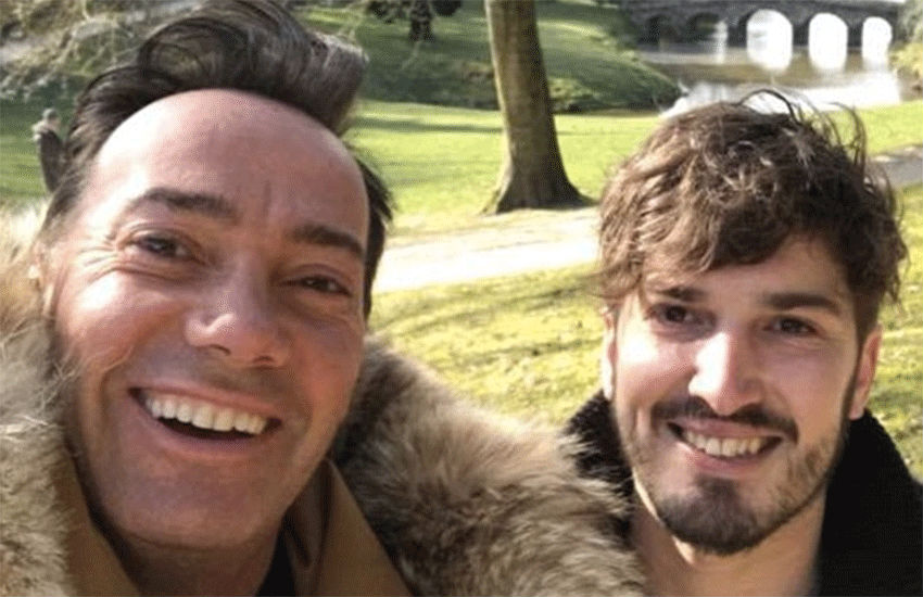 Craig Revel Horwood and boyfriend Jonathan Myring | Photo: Facebook/jonathanmyring