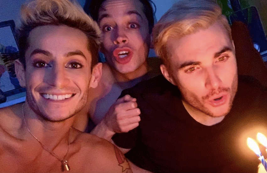 Frankie and his boyfriends | Photo: Instagram/frankiejgrande