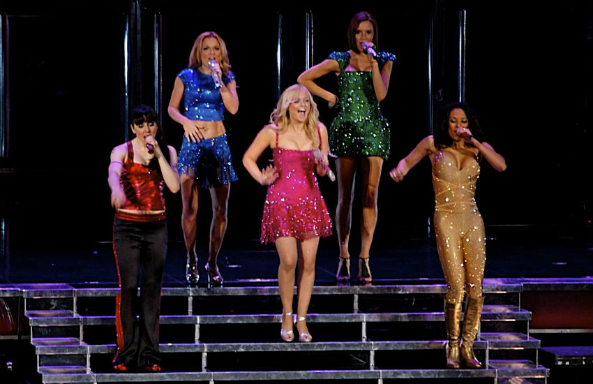 The Spice Girls in 2008