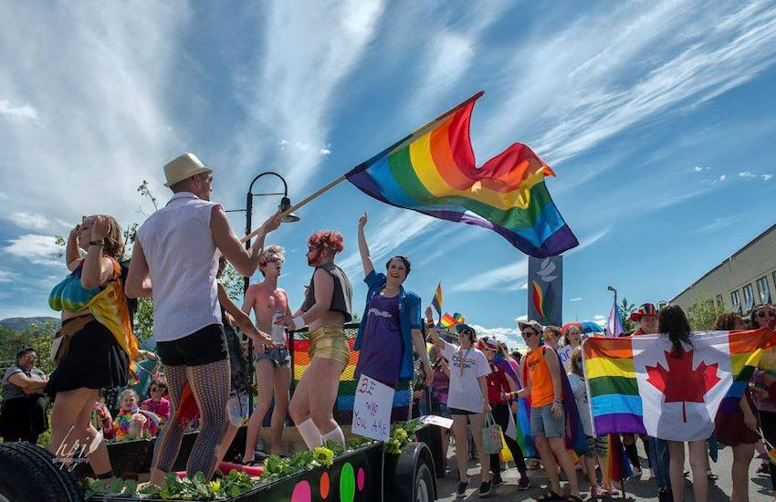 Revellers at Yukon Pride, as 1000 march and take over this small but wonderful town | Photo: HJP Photography (supplied)