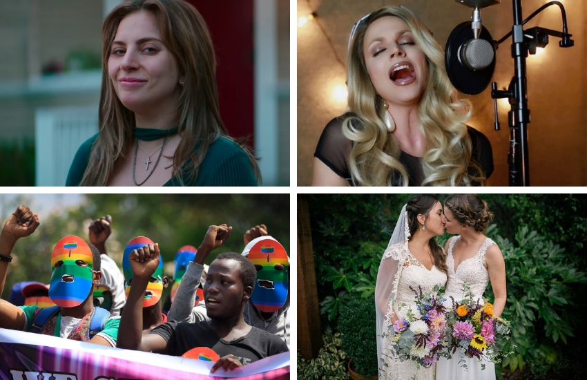 What are you hoping happens in 2019? | Photos: A Star Is Born, Courtney Act, Facebook, Equally Wed/Instagram