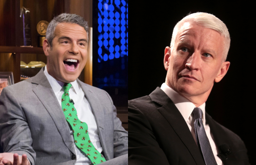 Andy Cohen and Anderson Cooper