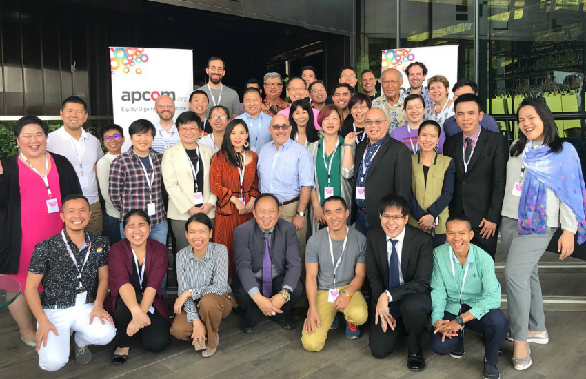 Australian marriage equality advocates meet with counterparts from across Asia (Photo: Twitter)