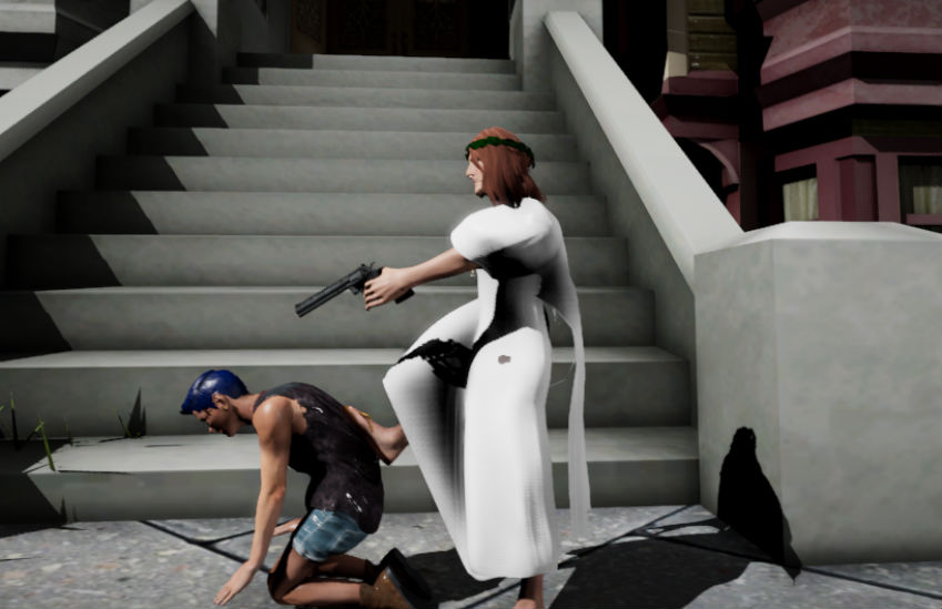 There's a video game in which you play Jesus and murder gay people | Photo: Jesus Strikes Back