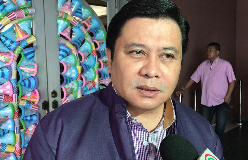 Jinggoy Estrada is a scandal-hit politician in the Philippines (Photo: Twitter)