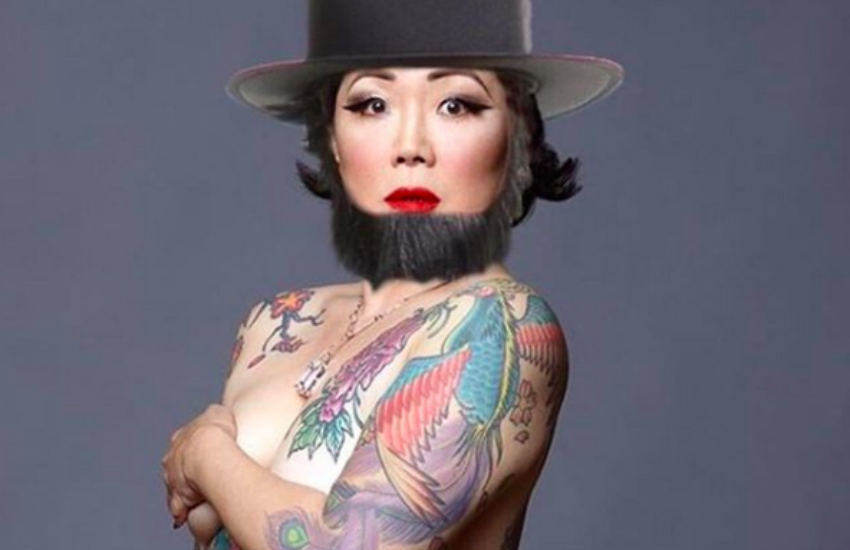 Margaret Cho poses for her 50th birthday (Photo: Instagram)