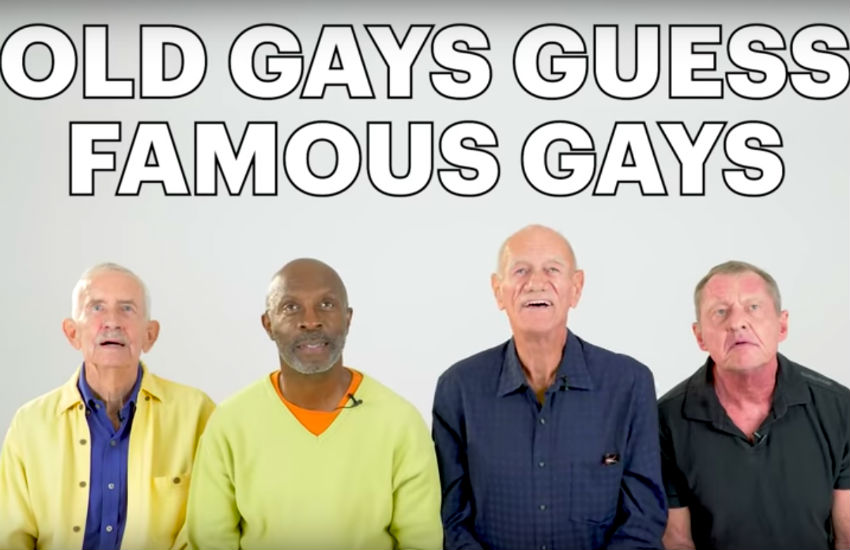 'Old gays' guess young LGBTI stars