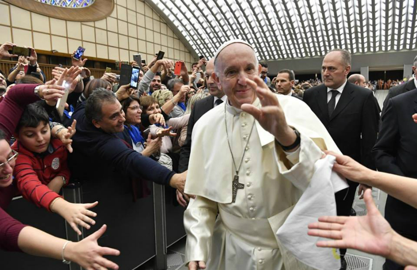 Pope Francis   Photo: Facebook