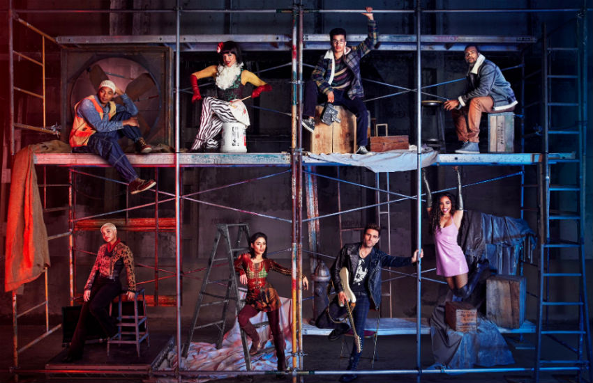 Cast of remake of Rent