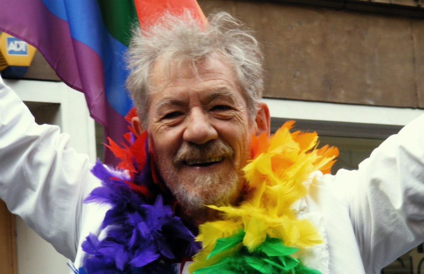 Sir Ian McKellen lower age of consent in the UK