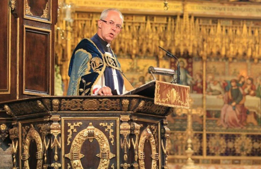 The Archbishop of Canterbury, Justin Welby, is head of the Church of England