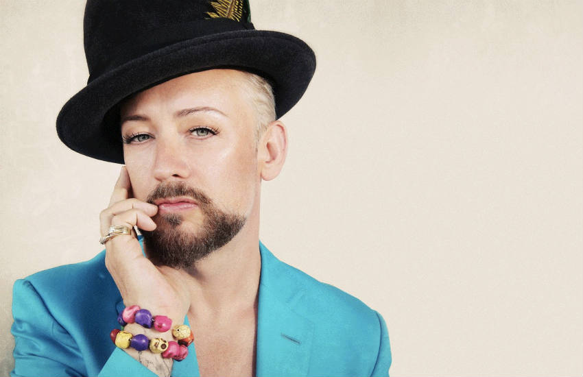 Boy George in the artwork for solo album This Is What I Do