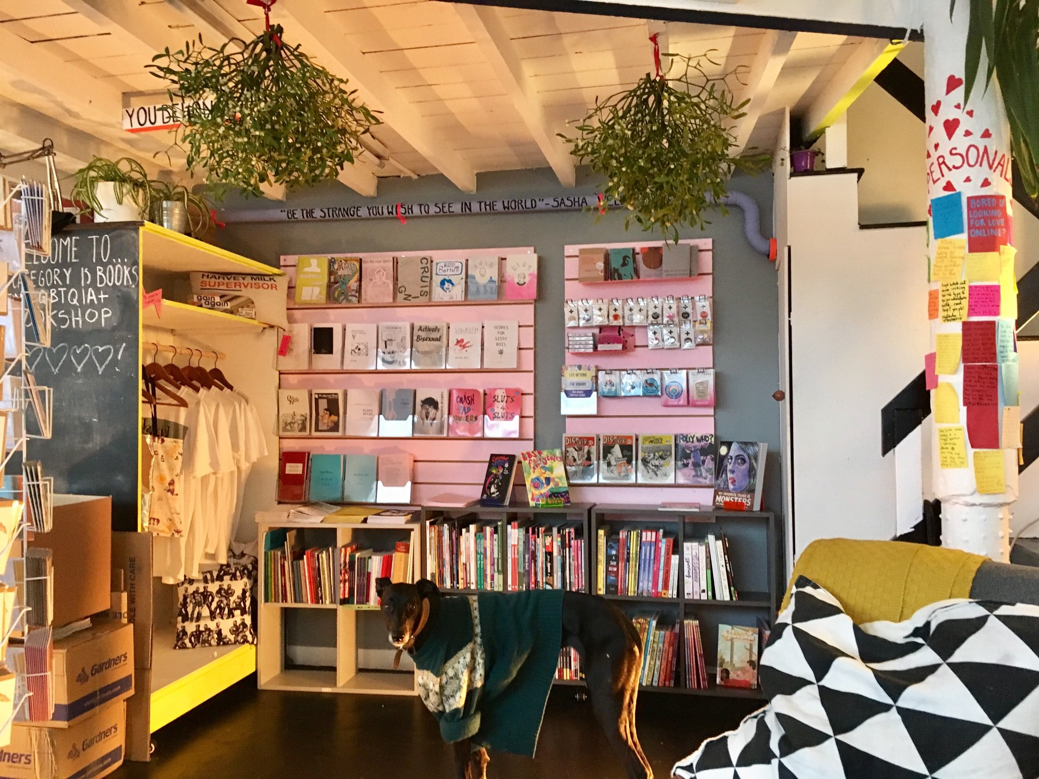 Bestseller: Category Is Books is Scotland's only LGBTI book store. Photo: CategoryIsBooks Twitter