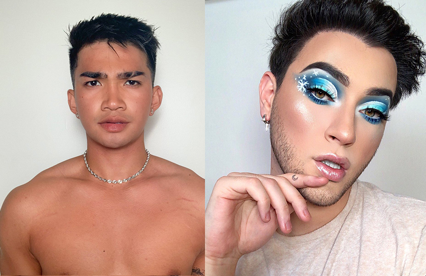 Bretman Rock (left) and Manny MAU (right) (Photos: Twitter)