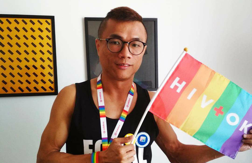 Hong Kong-based LGBTI activist Cheung Kam Hung (Photo: Facebook)
