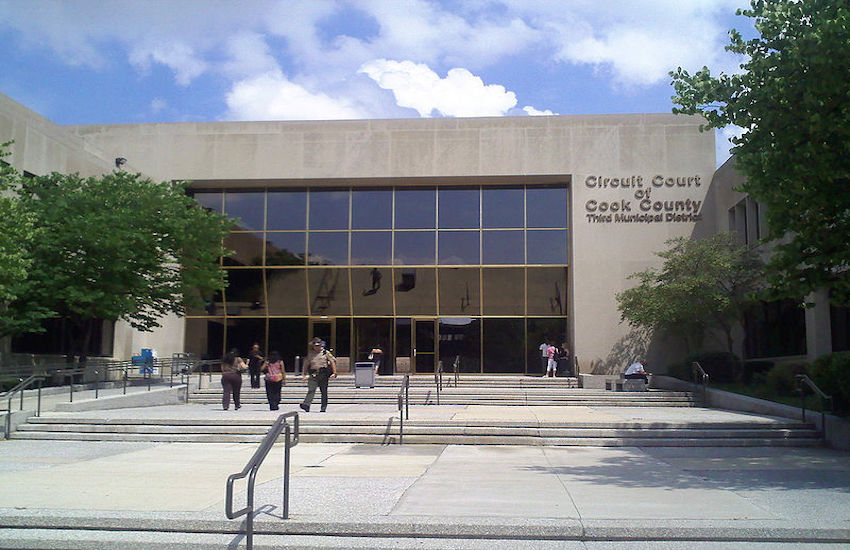Circuit Court in Cook County, Chicago. Medic Logan Grimes works for the Cook County jail.