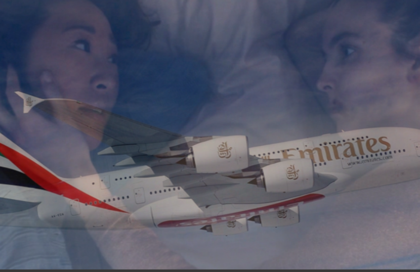 Air brushed: Emirates is accused of cutting LGBTI scenes from top shows. Photo: Mark Johnson