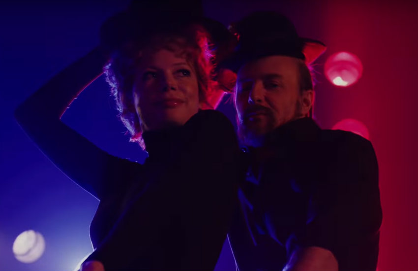 Michelle Williams and Sam Rockwell as Verdon and Fosse in the new FX series
