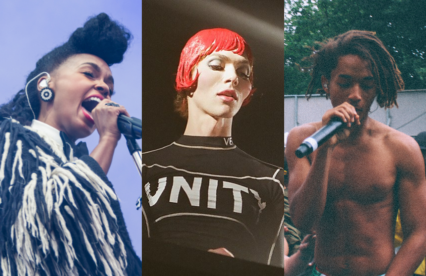 Janelle Monae, SOPHIE and Jaden Smith