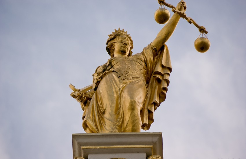 Lady Justice represents law, fairness, and justice