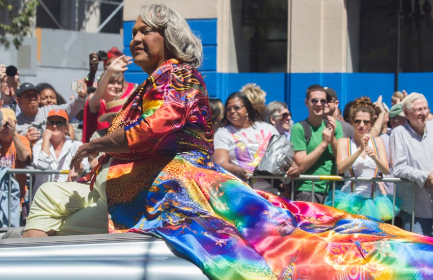Miss Major at San Francisco Pride in 2014