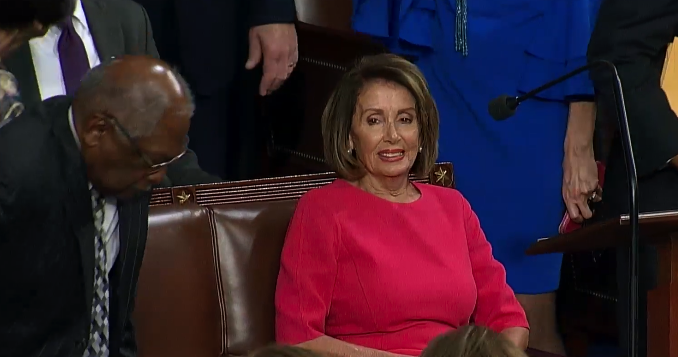 Speaker of the House: Nancy Pelosi vows to support LGBTI efforts. Photo: YouTube