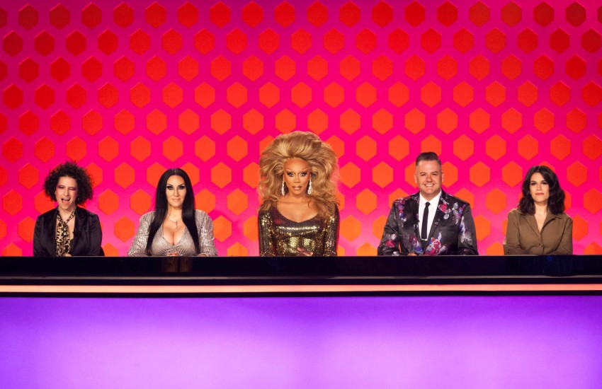 RuPaul and judges on Drag Race