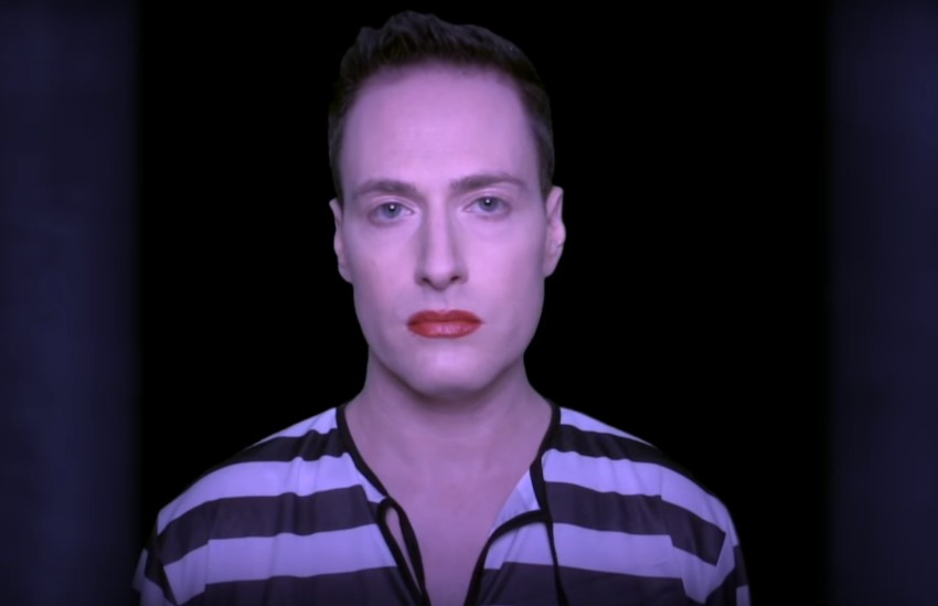 Randy Rainbow in his Cell Block Tango video