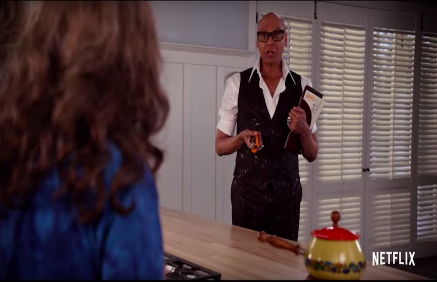 RuPaul appears in the Grace and Frankie season 5 trailer