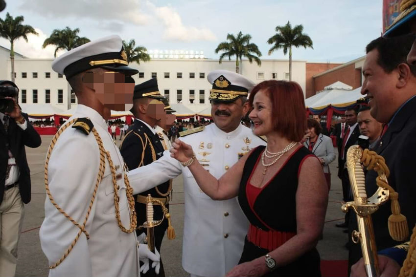 This soldier from Venezuela was given the Sabre de Honor before becoming a sex worker | Photo: Supplied