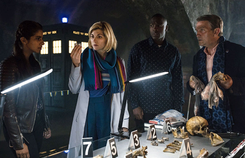 No one's safe: Not even LGBTI people are safe from the perils of the universe in Doctor Who. Photo: BBC
