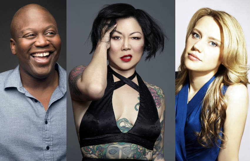 Tituss Burgess, Margaret Cho and Kate McKinnon.