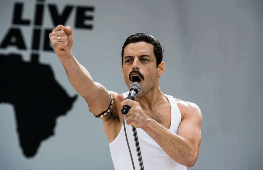 Rami as Freddie in Bohemian Rhapsody | Photo: 20th Century Fox