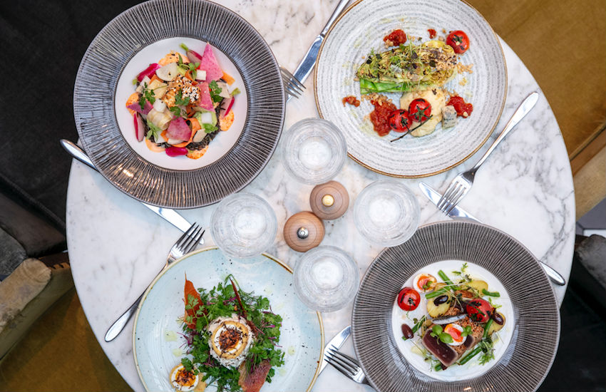 Colorful and neatly-presented food is a prerequisite at 100 Wardour St. | Photos: Courtesy of 100 wardour St.
