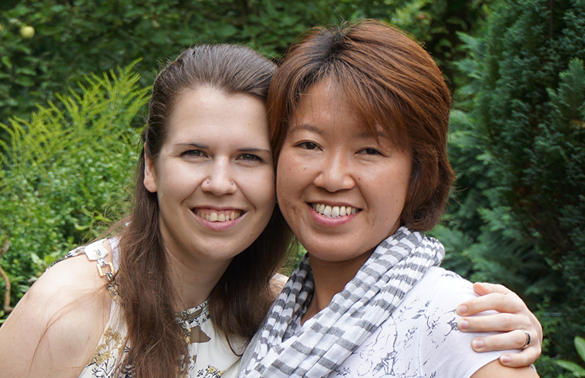 Ai Nakajima and Kristina Baumann are suing the Japan government for not recognizing their marriage (Photo: Provided)