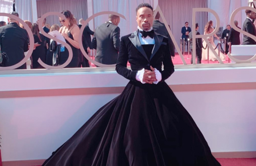 Billy Porter in tuxedo gown (Photo: Instagram / Christian Siriano)