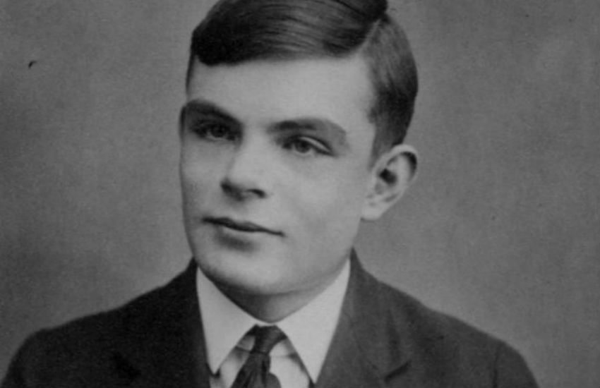 Alan Turing, at the age of 16