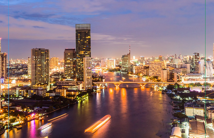 Chao Praya river in Bangkok will host the country's first LGBT boat pride (Photo: Facebook)