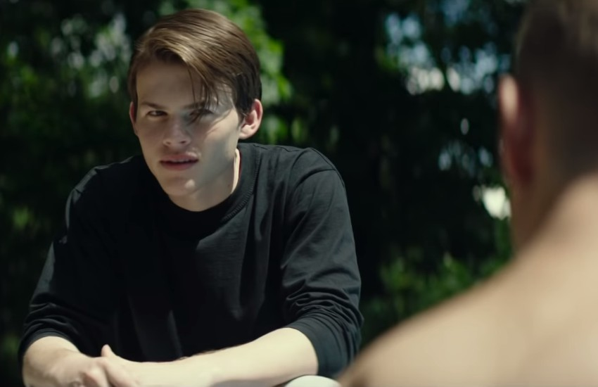 Josh Wiggins as Franky in the movie Giant Little Ones