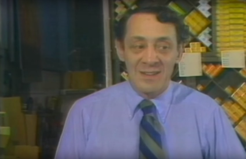 Harvey Milk in NBC interview