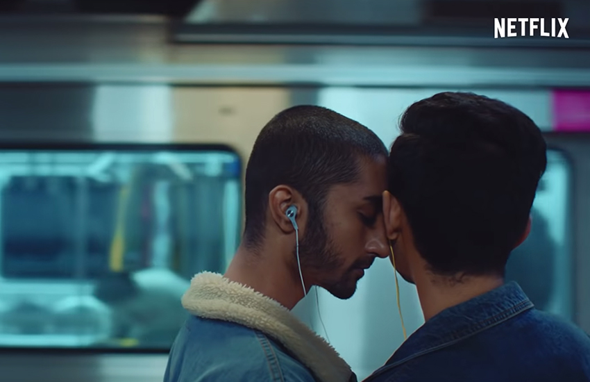 Netflix India celebrated Valentine's Day with a gay romance (Photo: YouTube)