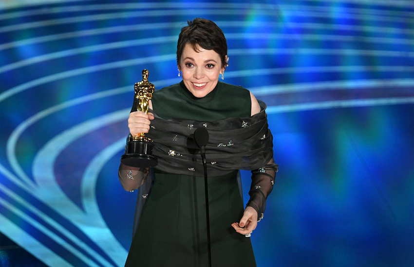 Olivia Coleman won an Oscar for her role as Queen Anne (Photo: Twitter)