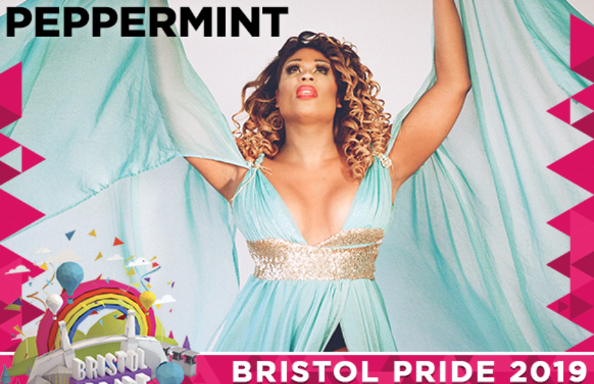 Fresh of her Broadway run, the lip-sync assassin Peppermint will be performing at Bristol Pride 2019