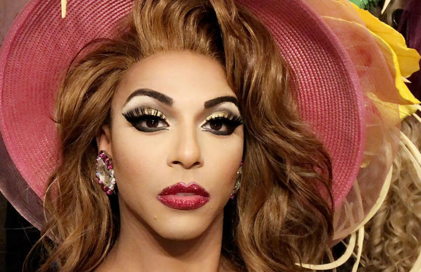 Shangela in a hat